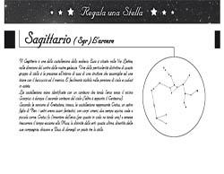 Puoi scegliere la costellazione dove avverranno le osservazioni per individuare la stella